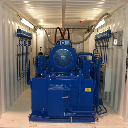 Sea Container inside